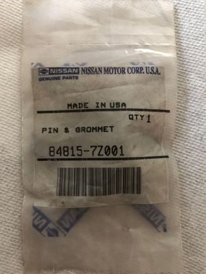 Nissan OEM Pin & Grommet for Sale in Tracy, CA