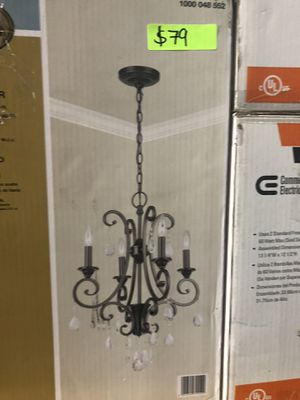 This sweet Home Depot chandelier for Sale in Lutz, FL
