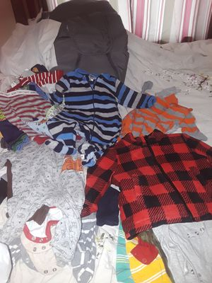 Boys baby clothes, baby shoes for Sale in Youngstown, OH
