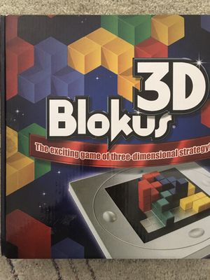 Blokus 3D Puzzle Game for Sale in Kent, WA