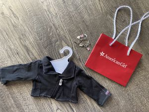 American Girl Doll Isabelle Jacket, hanger, bag and charm bracelet for Sale in Anaheim, CA