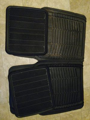 Car mats and weight bench for Sale in Groveport, OH