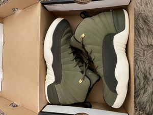 Jordan 12 Olive green for Sale in Fresno, CA