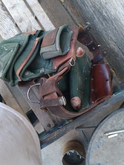 Leather Construction Belt for Sale in Fresno,  CA