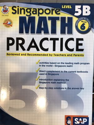 Eight Math, Reading and Vocabulary Books for 4th and 5th Graders - New Condition for Sale in Menlo Park, CA