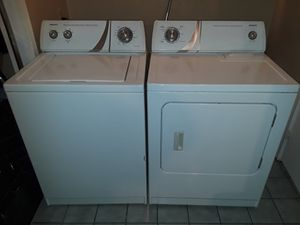 Matching Admiral washer dryer set for Sale in Fife, WA