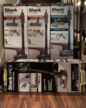 Shark Cordless Vacuums for Sale in North Providence, RI