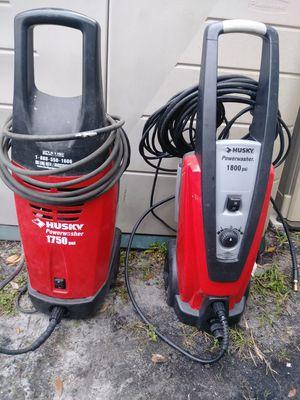 Husky pressure washer (Price for both) for Sale in Oakland Park, FL