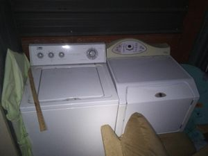 Washer and dryer both work great will sell for $200 as pair for Sale in Oskaloosa, IA