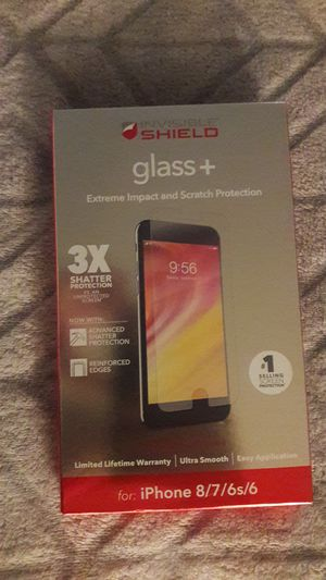 IPhone 8 shatter proof screen protector for Sale in Tempe, AZ