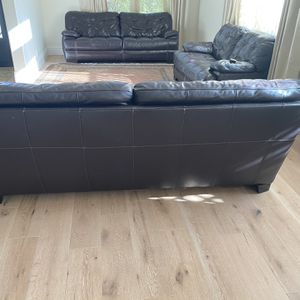 3 Piece Leather Sofa Set for Sale in Los Angeles, CA