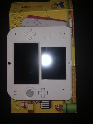 Nintendo 2DS - Scarlet Red with New Super Mario Bros. 2Game Pre-Installed for Sale in East Haven, CT