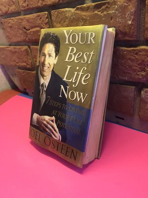 Your best life now book 7 steps to living at your full potential Joel Osteen! for Sale in Savannah, GA