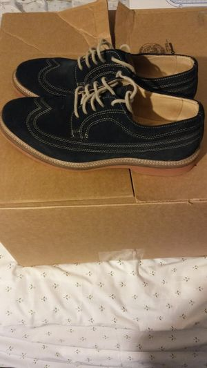 Men's 1901 Shoes - Size 10M Blue Suede and Leather Casual Dress Shoe for Sale in South Hill, VA