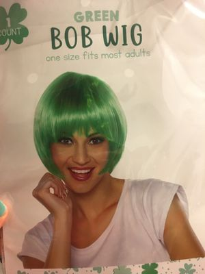 At patty's day wig (new) for Sale in Wolfforth, TX