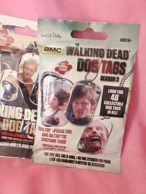 The walking dead dog tags for Sale in Los Angeles, CA
