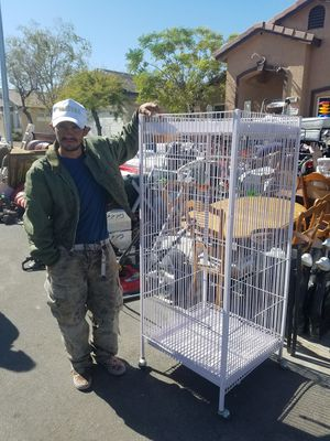 """Cage for bird 5'2"""" x 24"""" for Sale in Las Vegas, NV"""