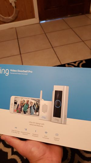 Ring doorbell pro and chime pro for Sale in Wahneta, FL