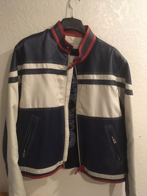 Men's Wilsons Leather M. Julian Leather Jacket Cafe Racer Moto Size XL for Sale in Kissimmee, FL