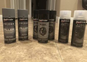 Dupli-Color wheel rim paint set (Black) for Sale in Henderson, NV