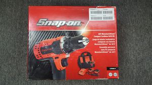 Snap-On Cordless Drill Kit for Sale in Flat Rock, MI