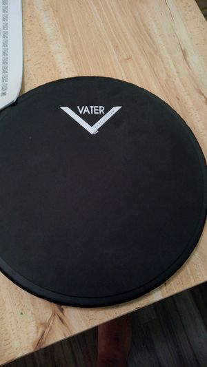 Vater snare drum practice pad drum sticks and stick control book marching band drummer drum practice for Sale in Virginia Beach, VA