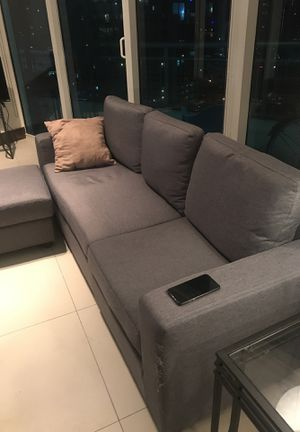 Grey Sectional Couch for Sale in Miami, FL
