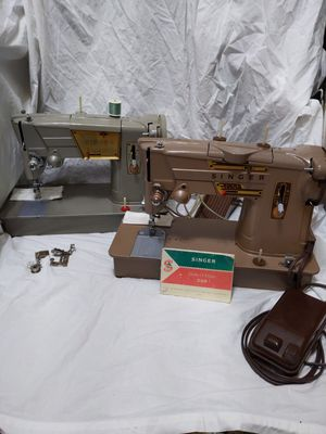 2 SINGER model 328 Sewing Machines 2 Style O Matics for Sale in Montrose, CA