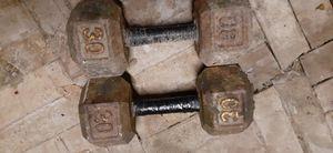 30 lb dumbells for Sale in McAllen, TX