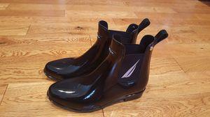 NEW Women's Black Nautica Rain Booties - size 8 for Sale in Anacortes, WA