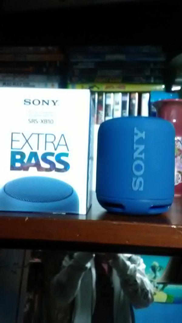 Bluetooth Sony speaker extra Bass