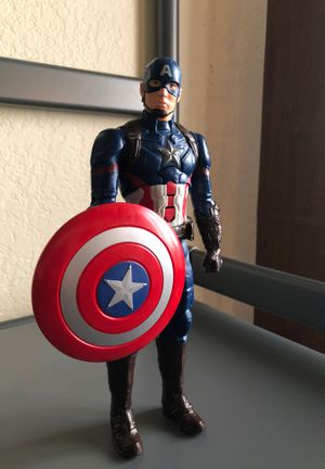 Captain America Civil War Electronic Titan Hero Talking 12-Inch Action Figure for Sale in Fontana, CA
