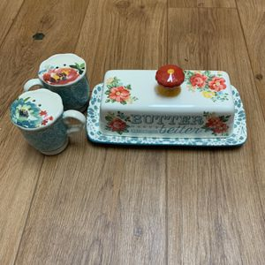 Butter Dish With Salt And Pepper Shakers for Sale in Colorado Springs, CO