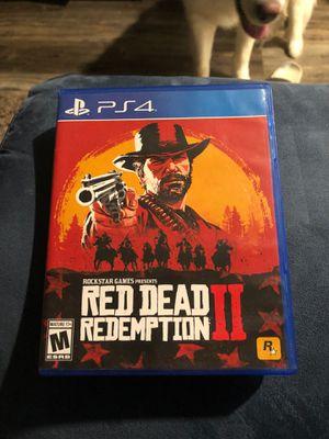 Red Dead Redemption 2 ps4 for Sale in Murfreesboro, TN