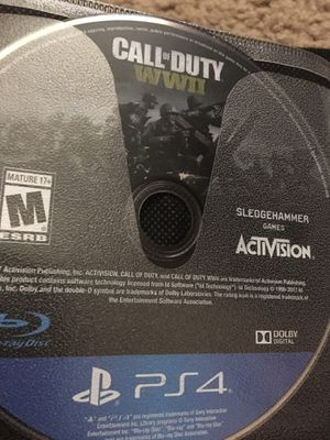 Call of duty ww2 (ps4) for Sale in Lake City, GA