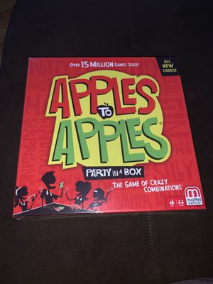 Apples to Apples for Sale in Essex, MD