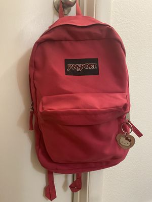 Jansport HOT PINK backpack for Sale in San Antonio, TX