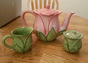 Tea pot set 3 pieces $6 for Sale in Murfreesboro, TN