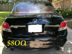 🍁🔥$8OO URGENT I sell my family car 2OO9 Honda Accord Sedan V6 EX-L 𝓹𝓸𝔀𝓮𝓻 𝓢𝓽𝓪𝓻𝓽 Runs and drives very smooth🍁🔥 for Sale in Tacoma, WA
