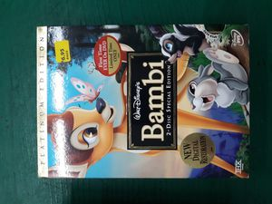 Disney dvd bambi the original for Sale in Lancaster, OH