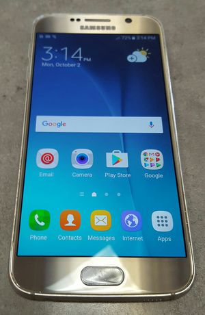 Sprint Samsung Galaxy S6 32gb Gold Android Smart Cell Phone for Sale in Vancouver, WA
