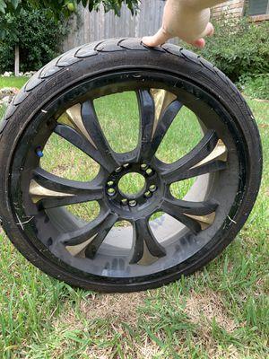 "Baccarat Mirage 20"" Rims w/Falken Azenis Tires for Sale in Spring, TX"