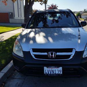 Se Vende Honda CRV 2002 for Sale in Salinas, CA