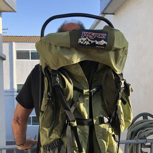 Jansport Carson 80 Backpacking/Hiking external frame pack for Sale in Long Beach, CA