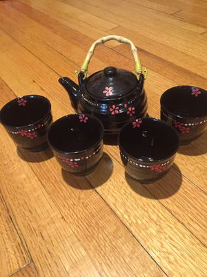 Beautiful Vintage Asian Tea Set for Sale in Bellaire, TX