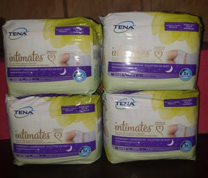 Tena Intimates Overnight Disposable Underwear! for Sale in BETHEL, WA