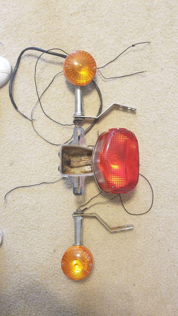 1979 suzuki gs750 L indicators and tail light