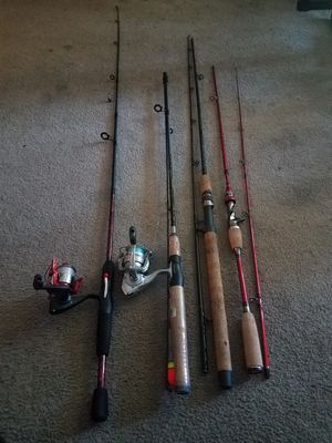 Fishing rods/ poles for Sale in Des Moines, WA