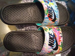 Women's Floral Nike Slides/Slippers for Sale in Orlando, FL