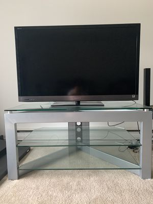 Glass TV Stand for Sale in Windsor, CT